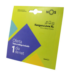 Cartão Sim Nos Kanguru Livre Xl 1gb