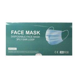 Máscara Cirúrgica Descartável (Caixa De 50 Peças)
