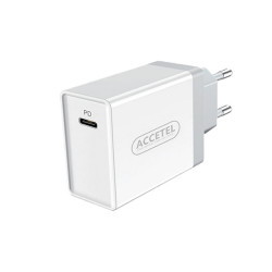 Accetel Ac600w 18 Wats Type-C White Usb Adapter