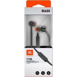 Earphones Jbl Tune 110 In Ear Micro 3.5mm Black