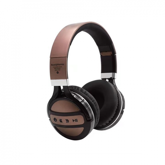 Headphone B64 Wireless Stereo With Bluetooth Gold