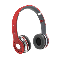 Headphone S450 Wireless Stereo With Bluetooth Red