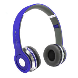 Headphone S450 Wireless Stereo With Bluetooth Blue