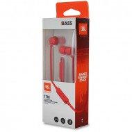 Earphones Jbl Tune 110 In Ear Micro 3.5mm Red