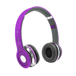 Headphone S450 Wireless Stereo With Bluetooth Purple