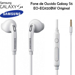 Earphone Samsung Galaxy S6 G920 Eo-Eg920bw White