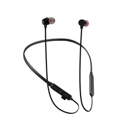 Tf-100 Edr Stereo Binaural Stereo Neckband Earbuds Support Tf Card Black