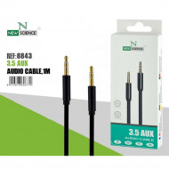 New Science Audio Cable 3.5mm Aux Compativel