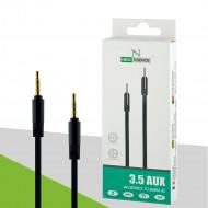 New Science Audio Cable 3.5mm Aux Black