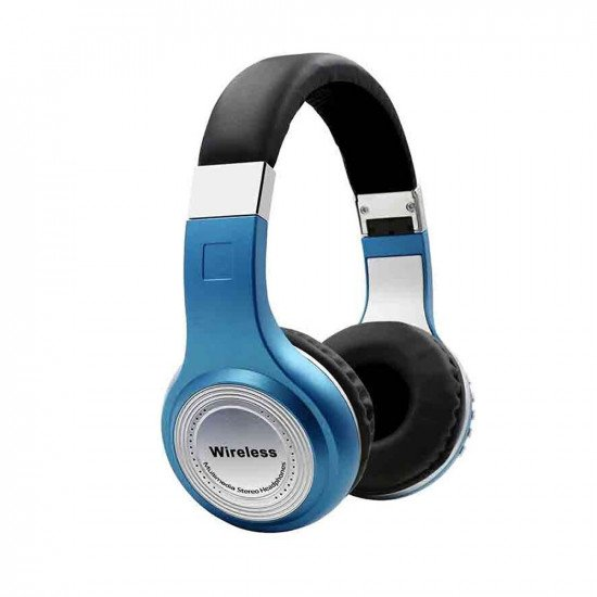Headphone STN-474 Wireless Stereo With Bluetooth Blue