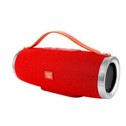 Speaker Tg109 Portable Wireless Speaker With Bluetooth Red