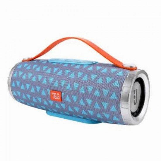 Speaker Tg109 Portable Wireless Speaker With Bluetooth Blue/Grey