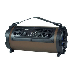 Mtk Ft-999 Electra Bluetooth Speaker With Led Display 20w/Fm/Tf/Audio/Microfone,Brown