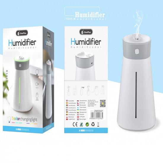 Humidificador De Ar E Fragrância Oneplus R5896 2 Em 1 Usb Branco