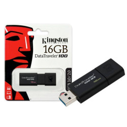 Pen Drive Kingston 16gb Data Traveler 100 G3 Usb 3.1/3.0/2.0