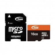 Memory Card Team Group 16GB Class 10 Micro Sd With Adapter