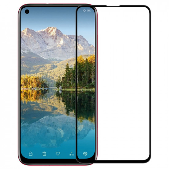 Pelicula De Vidro 5d Completa Huawei Nova 5i Preto