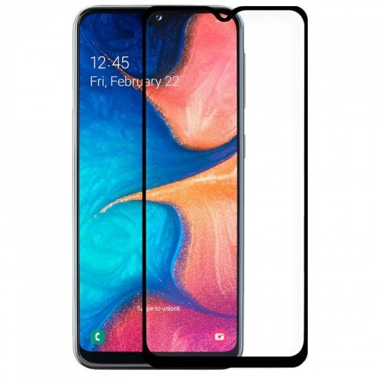 Screen Glass 5d Complete Samsung Galaxy A40 Black