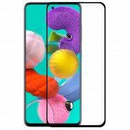 Pelicula De Vidro Completa 5d Samsung Galaxy A51 / M40s Preto
