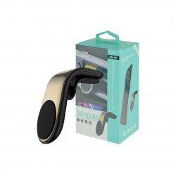 Suporte Magnético Para Telefone De Carro New Science Hd03 Dourado