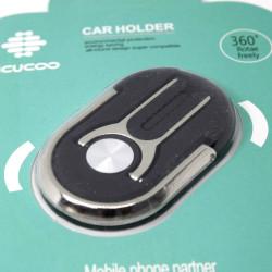Portable Car Air Vent Mount Holder 360° For Mobile Phone Black