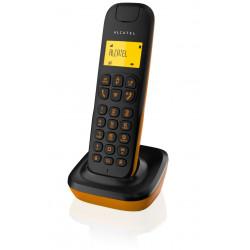 Alcatel D135 Wireless Telephone Black+Orange