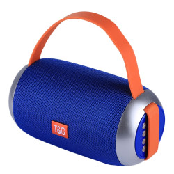 Speaker Tg112 Portable Wireless With Bluetooth Blue
