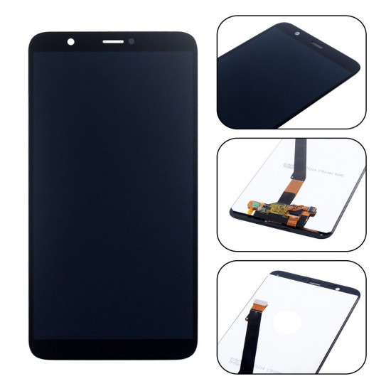 Touch+Display Huawei P Smart Fig-Lx1, Fig-La1, Fig-Lx2, Fig-Lx3 Preto