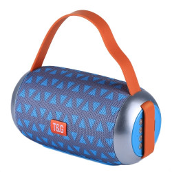 Speaker Tg112 Portable Wireless With Bluetooth Grey
