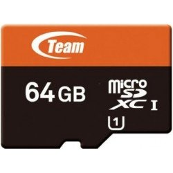 Memory Card Team Group 64GB Class 10 Micro Sd With Adapter