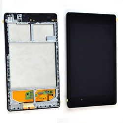 Touch+Lcd With Frame Asus Google Nexus 7 2013 Black