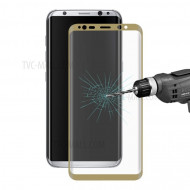 Screen Glass Protector Curvado Samsung Galaxy S8 Plus Golden