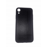 Leather Case For Apple Iphone Xr  Black