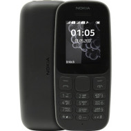 Telemovel Nokia 105 Ta-1034 Double Sim Black