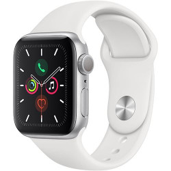 Smartwatch Apple Watch  Series 5 44mm Silver With Sport Band (Mwve2ll/A)