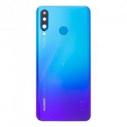 Tampa Traseira Huawei P30 Lite 48mp Com Camera Lens Azul