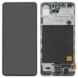 Touch+Display Com Frame Samsung Galaxy A516 A51 5G Black