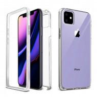 Capa Silicone Dura 360º Apple Iphone 12 / 12 Pro 6.1