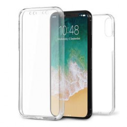 Capa Silicone Dura 360º Apple Iphone Xr Transparente