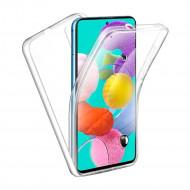 Capa Silicone Dura 360º Samsung Galaxy A20s Transparente