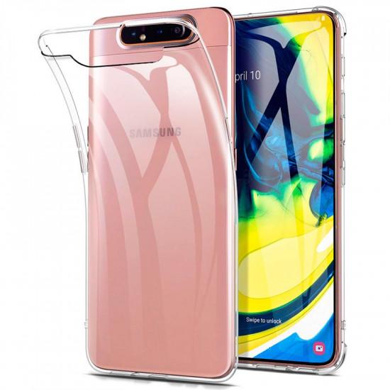 Silicone Para Samsung Galaxy A90 Transparent