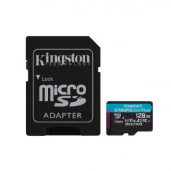 Memory Card Kingston 128gb Class 10 170mb/S-90mb/S Uhs-I U3 V30 A2
