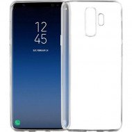Silicone Cover For Samsung Galaxy S9 Plus Transparent