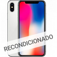 Apple Iphone X 64gb Silver Recondicioned