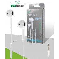 Headphone New Science Apple Iphone 4/5/6 Ref 5049