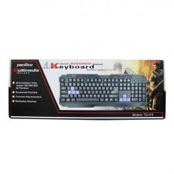 Keypad Pacifico Tq-315 Para Computador Preto/Azul