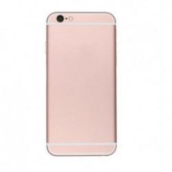 Tampa Traseira Apple Iphone 6s Plus Rosa Dourado