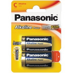 Pilha 2 X Panasonic Alkaline Power Lr14 / C 1.5v Size L