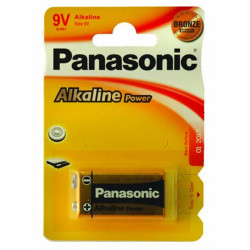 Pilha Panasonic Alkaline Power 6lf22 9v