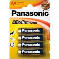 Pilha Panasonic Alkaline Power 1.5v Lr06 - Aa Size M